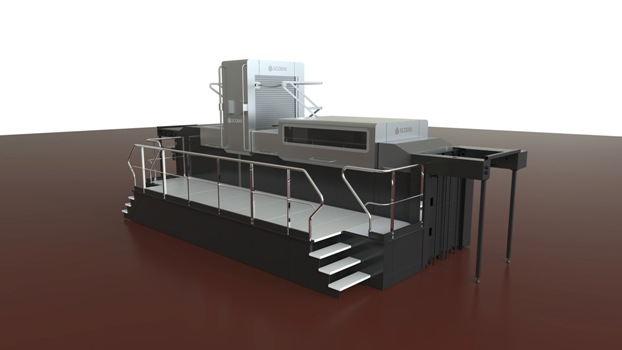 The new breakthrough Scodix E106 enhancement press for the folding carton market