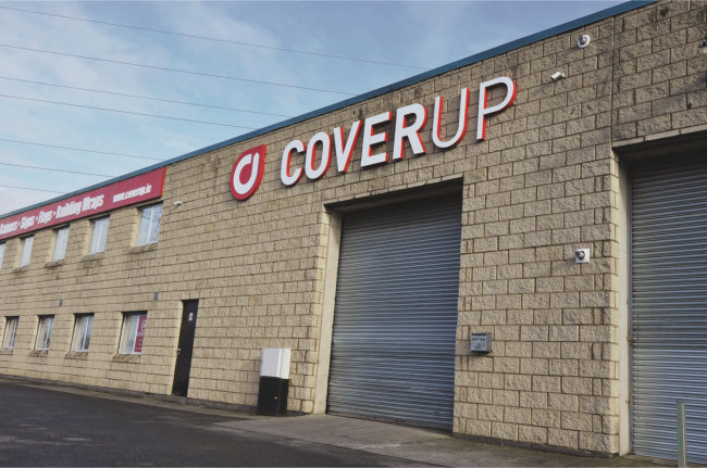 CoverUp Premises