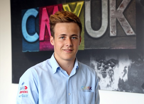 CMYUK apprentice Harry