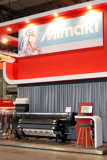 The Mimaki TS300P-1800 is a core dye sub printer and representative of the Turkish market.