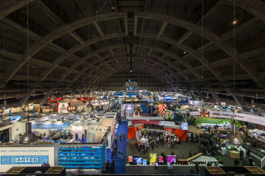 Show floor to cover eight halls and feature over 600 exhibitors