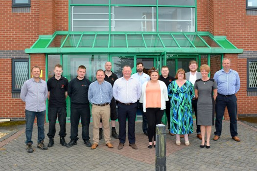 The Soyang Europe team at its Lancashire headquarters