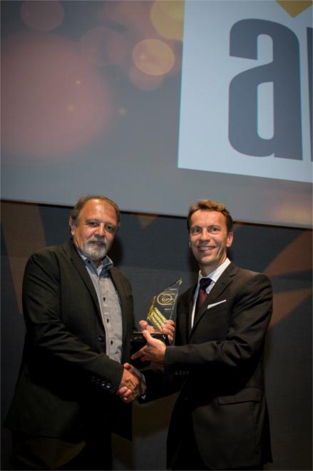 innovation category (under 300 employees) winner - AIM