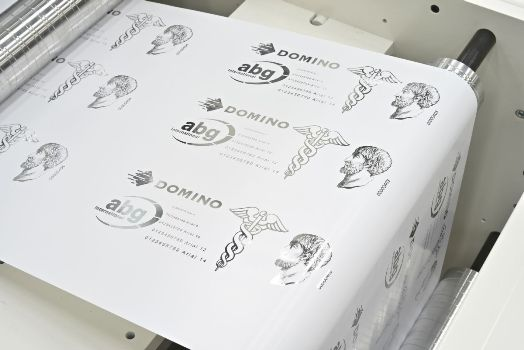 Domino K600i Foiling Application