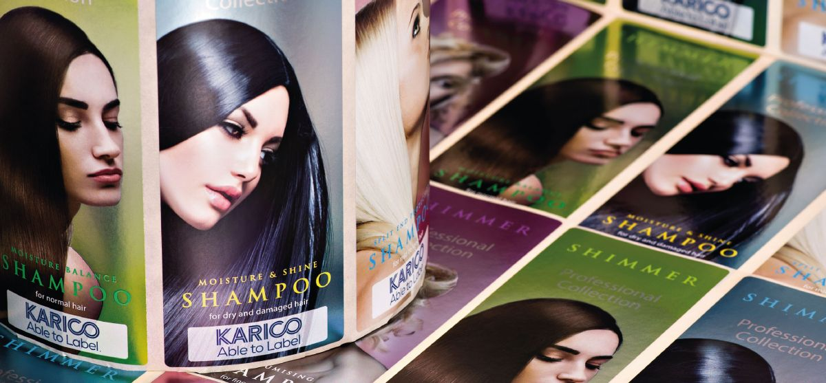 Domino Karico Digital printed labels