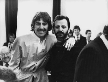 George Harrison and Ringo Starr
