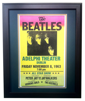 beatles dublin poster