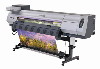 Mimaki JV400LX is first printer for MMCP scheme