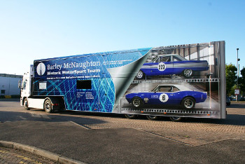 Barley McNaughton Trailer Wrap
