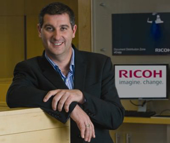 Chas Moloney director Ricoh UK and Ireland