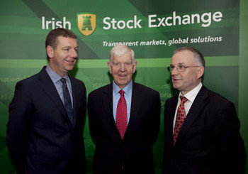 Chief technical officer Joseph Purcell, founder and non-executive director Patrick Purcell and Kevin Barry of Mincon