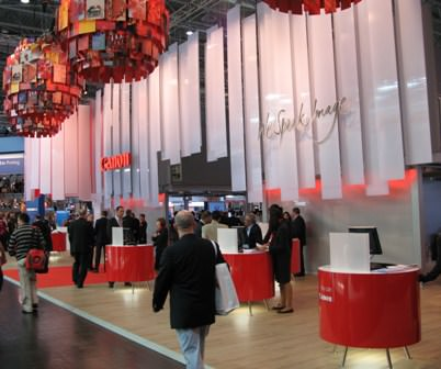 The Canon drupa 2008 stand